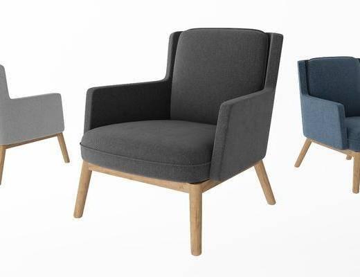 现代休闲椅, 简约休闲椅