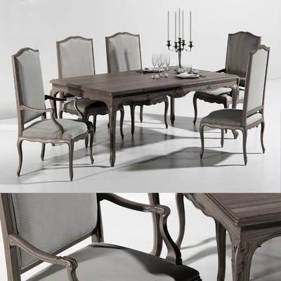 美式, 餐桌椅, �M合