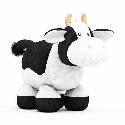 玩偶, 玩具, 奶牛, 牛
