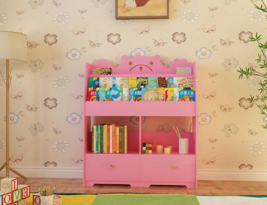 儿童柜, 柜架组合, 书籍