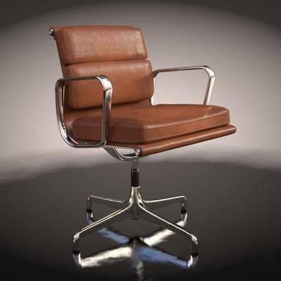 单人椅, 办公椅, 旋转椅, 现代