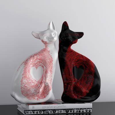 陶瓷, 摆件, 动物, 装饰品