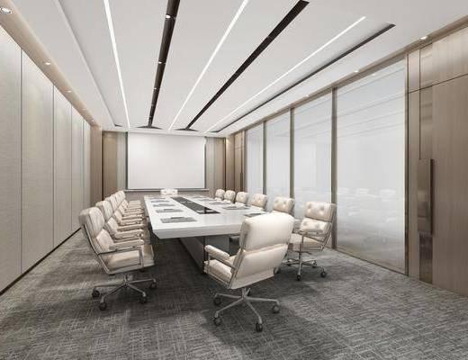 會議室, 會議桌椅組合, 現代