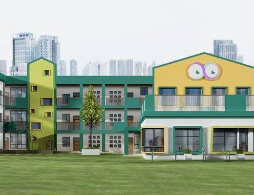 幼儿园, 建筑, 学校