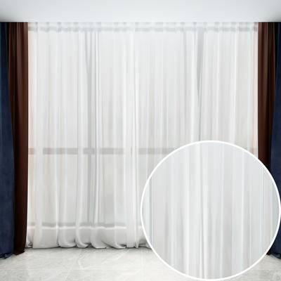 纱帘, 布料