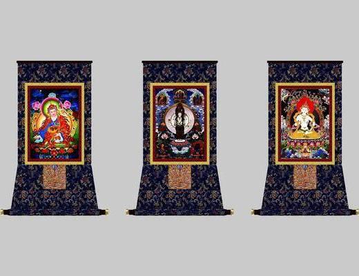 中式裝飾畫, 裝飾畫