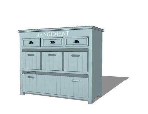 边柜, 柜架组合, 置物柜
