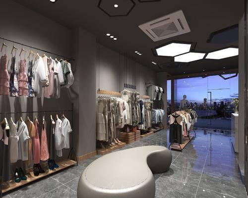 服装店, 衣服, 服饰