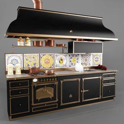 厨柜, 厨具, 新古典, 后现代