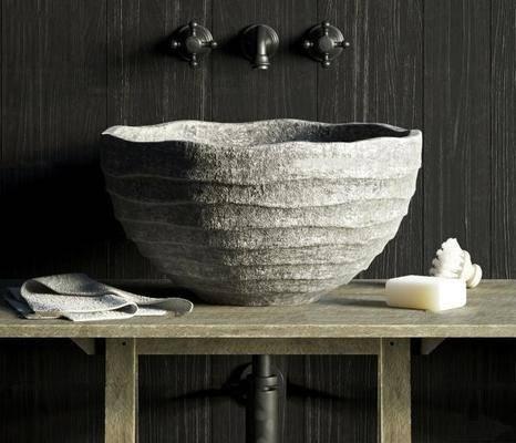 石雕, 洗手台, 卫浴