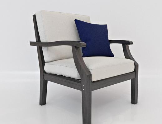 现代简约, 实木椅子, 现代椅子, 椅子