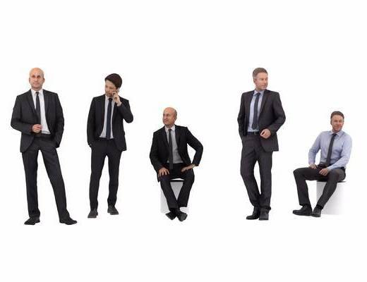 男人, 服饰, 现代