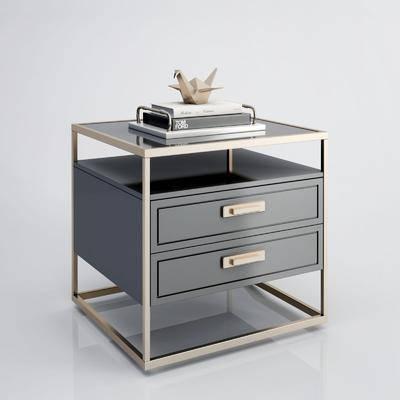床头柜, 柜架组合, 摆件组合