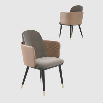现代, 单椅, 单体