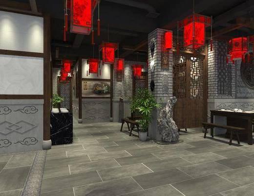 中式餐厅, 餐厅