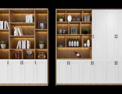 酒柜, 装饰柜, 北欧