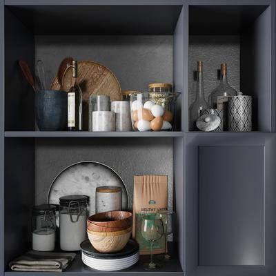 厨具, 摆件组合, 餐具组合