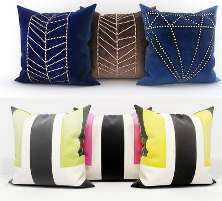 布艺抱枕, 抱枕组合, 现代