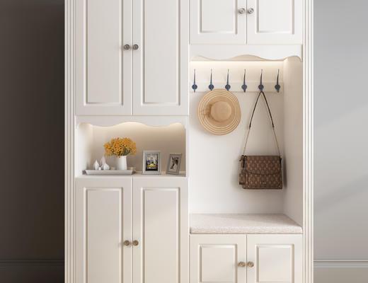 衣柜, 鞋柜, 衣帽柜, 木柜, 美式, 欧式