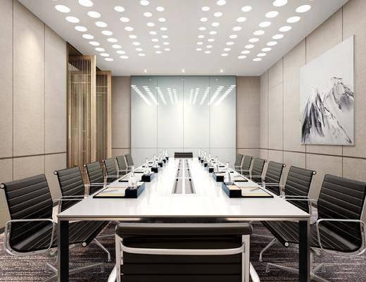 新中式会议室, 办公室