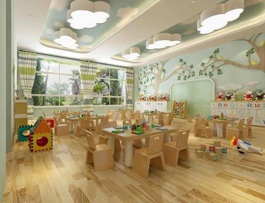 北欧幼儿园, 幼儿园, 教室