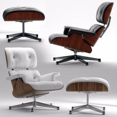 办公椅, 单人沙发, 凳子, 皮革沙发, 现代