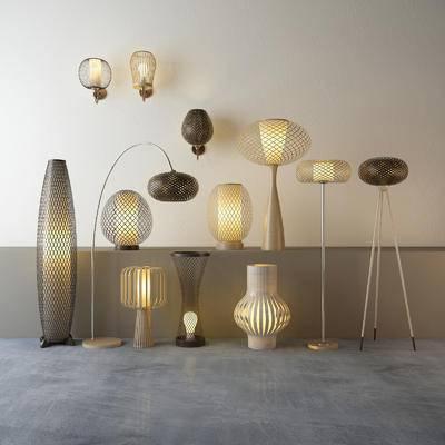 灯具, 落地灯, 台灯, 壁灯