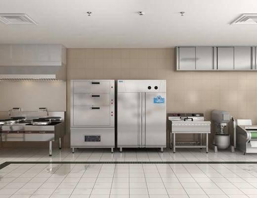 酒店厨房, 厨房设备, 现代
