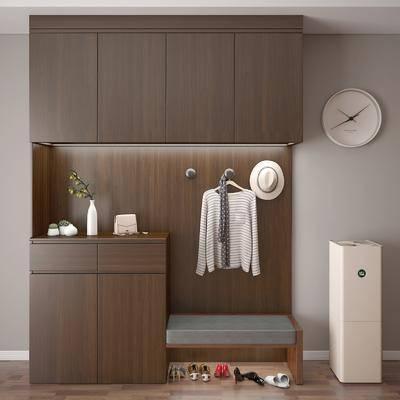 鞋柜, 装饰柜, 装饰品, 陈设品, 服饰, 摆件, 现代