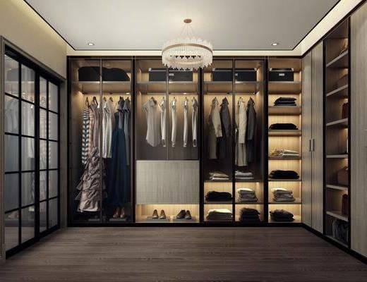衣帽间, 服饰, 现代