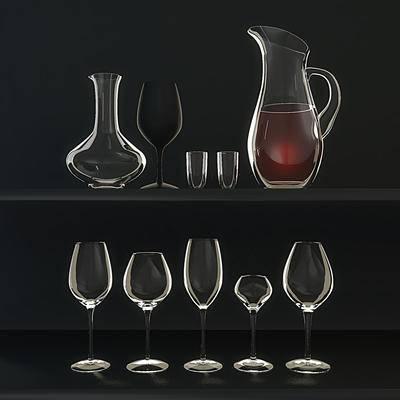 酒杯, 杯子, 高脚杯, 现代