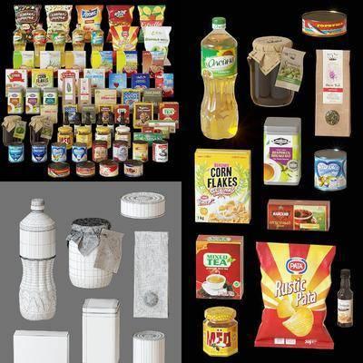 现代, 厨房用品, 食物, 饮料