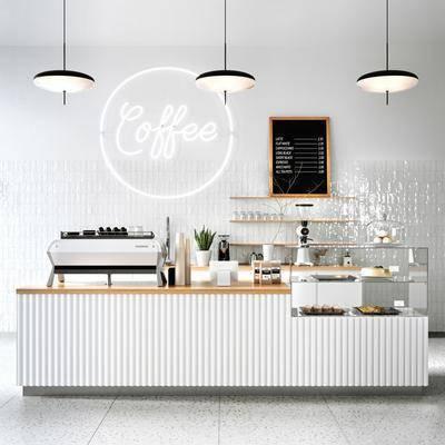 现代, 咖啡店, 组合