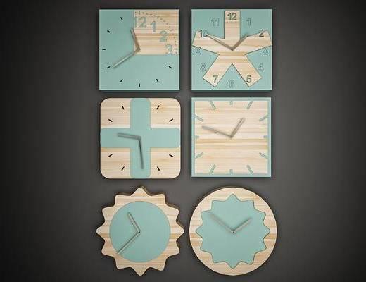 钟, 挂钟, 装饰挂钟