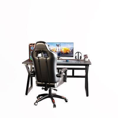 现代, 电脑桌, 组合