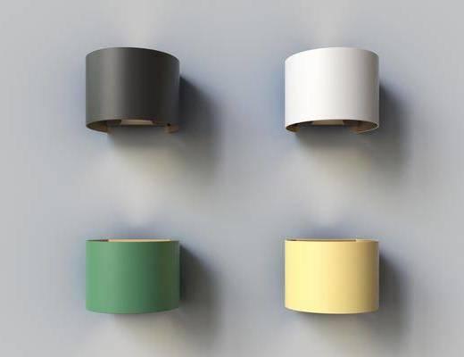 壁灯, 单体, 灯具
