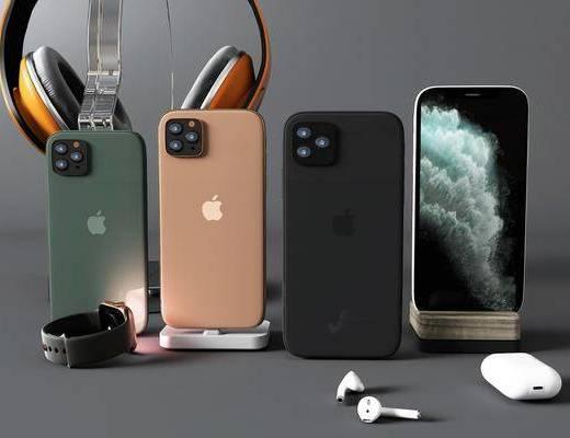手机, 数码产品, 耳机