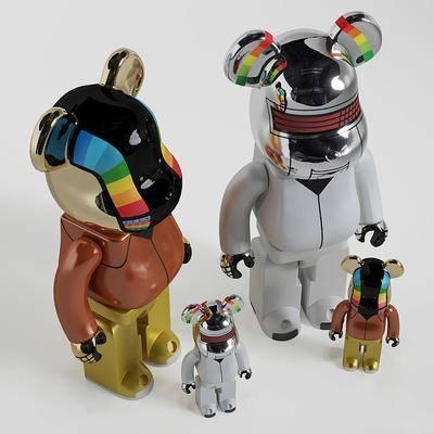 玩具手办熊动物