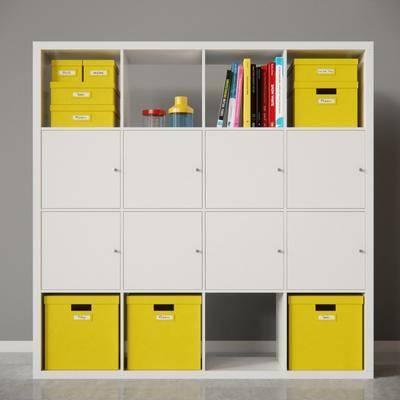 现代办公柜书籍组合, 现代, 书柜, 书本