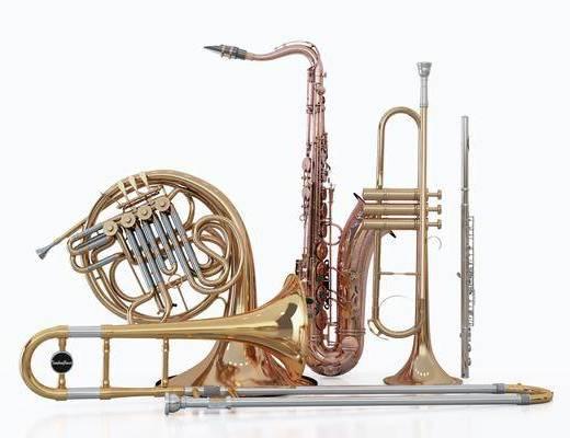 现代风格乐器