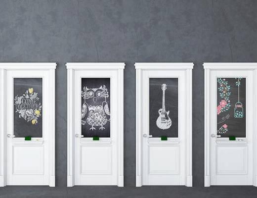门, 涂鸦门, 北欧门, 个性门