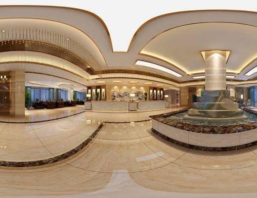 洗浴中心大厅