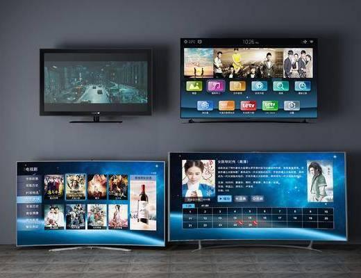 电视机组合, 现代