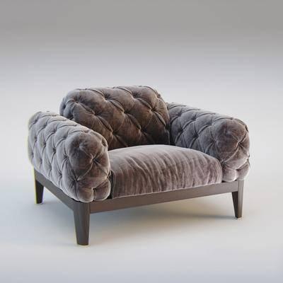 单人沙发, 休闲沙发, 现代沙发, 休闲单人沙发, 现代单人沙发, 现代