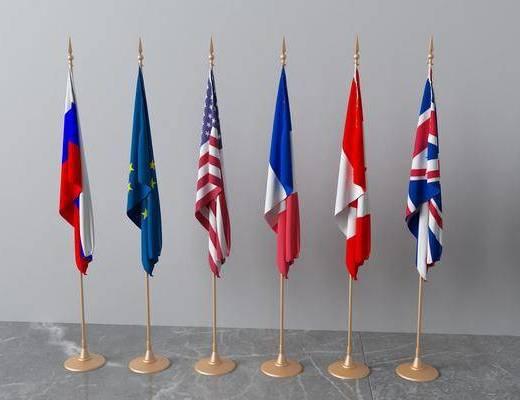 旗帜组合, 现代