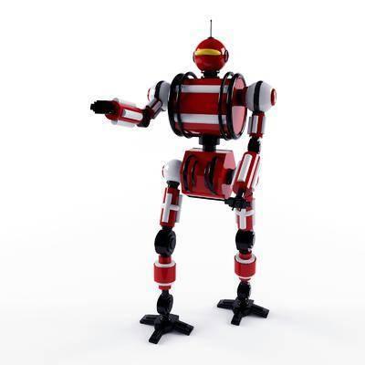 玩具, 机器人, 摆件, 现代