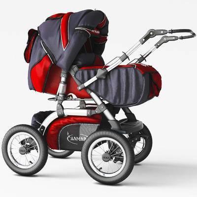 婴儿车, 现代