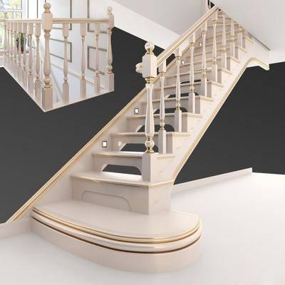 楼梯, 简欧, 现代