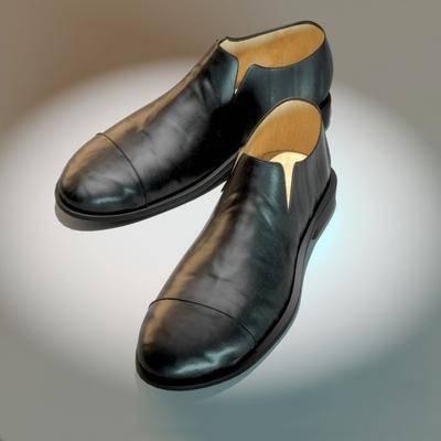 男装皮鞋, 现代