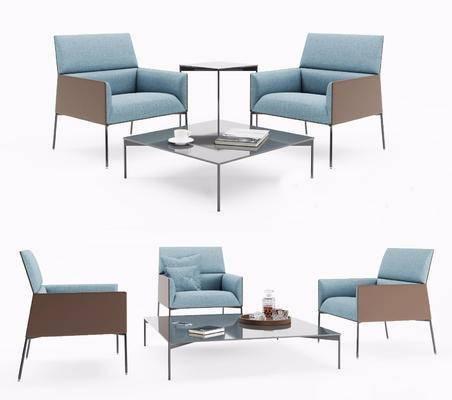 现代桌椅组合, 桌椅组合, 单椅